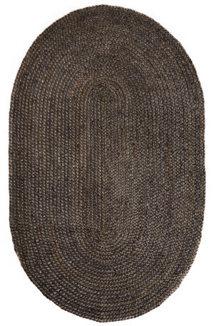 Anji Mountain Kerala Gray Jute Area Rug