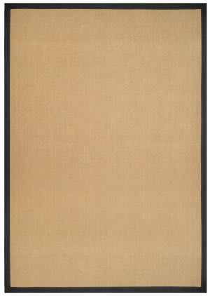 Anji Mountain Jetty 142053 Beige - Black Area Rug