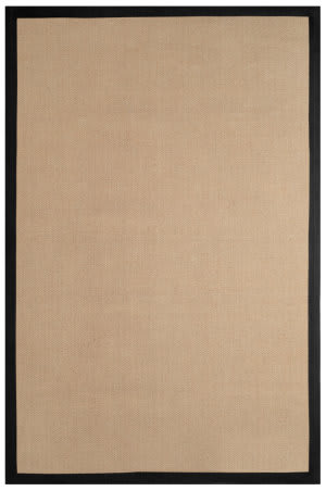 Anji Mountain Chapi-Chapi 142046 Beige - Black Area Rug