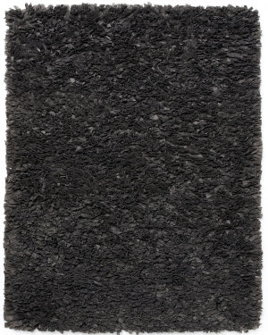 Anji Mountain Paper Shag Gray  Area Rug
