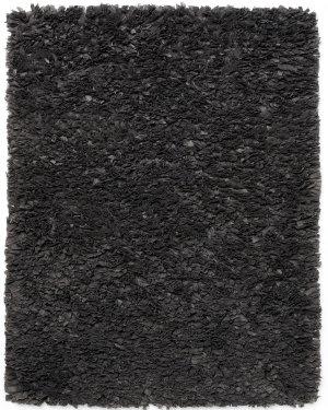 Anji Mountain Paper Shag Gray  Area Rug