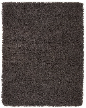 Anji Mountain Silky Shag Graphite  Area Rug