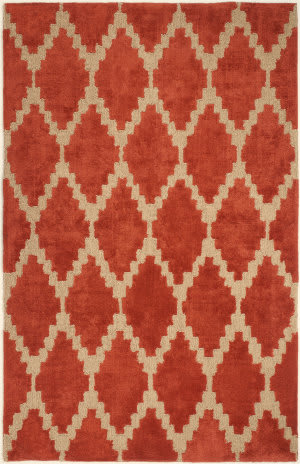 Anji Mountain Tajine 142073 Rust Orange Area Rug