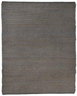 Anji Mountain Portland Gray Jute Area Rug