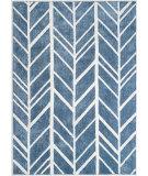 Anji Mountain Alder 142041 Blue - Ivory Area Rug