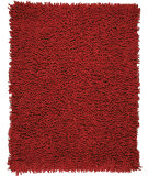 Anji Mountain Bamboo Shag Rugs Amb0652 Crimson Area Rug