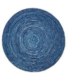 Anji Mountain Round Ripple 142063 Multi Area Rug