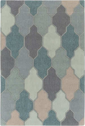 Surya Pollack Morgan Teal Multi Area Rug