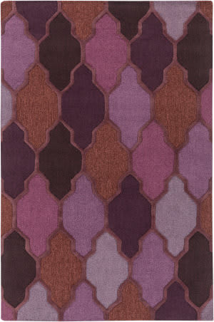 Rugstudio Sample Sale 125935R Purple Multi Area Rug