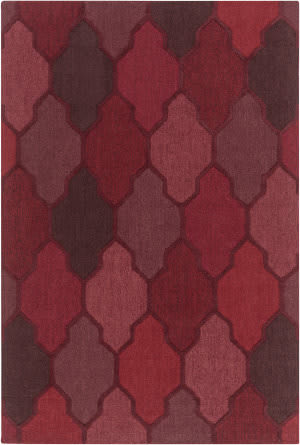 Surya Pollack Morgan Red Multi Area Rug