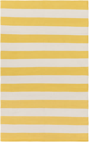 Surya City Park Lauren Yellow - Ivory Area Rug