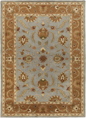 Surya Oxford Isabelle Light Blue/Brown Area Rug
