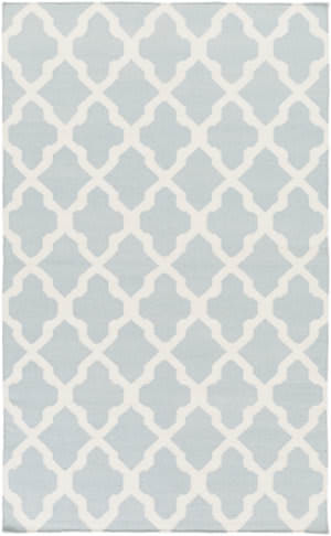 Surya York Olivia Light Blue/White Area Rug