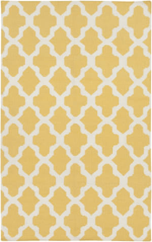 Surya York Olivia Yellow/White Area Rug
