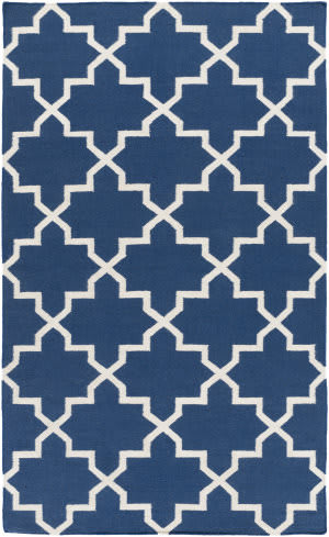 Surya York Reagan Blue/White Area Rug