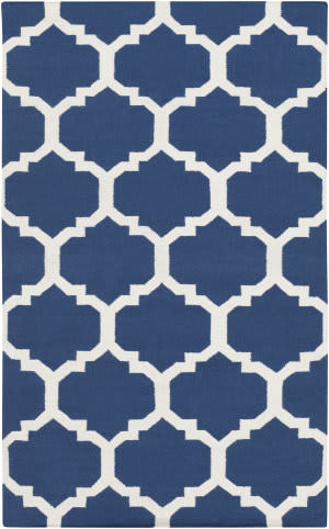 Surya York Harlow Blue/White Area Rug