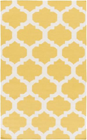 Surya York Harlow Yellow/White Area Rug