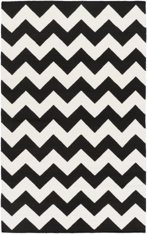 Surya York Pheobe Black/White Area Rug