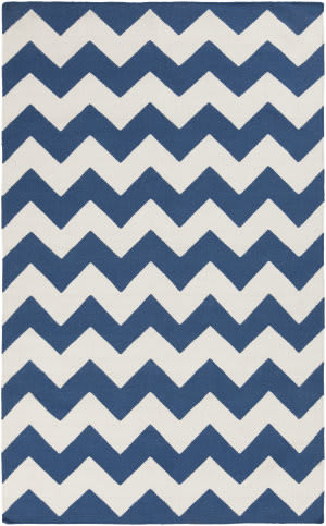 Surya York Pheobe Blue/White Area Rug
