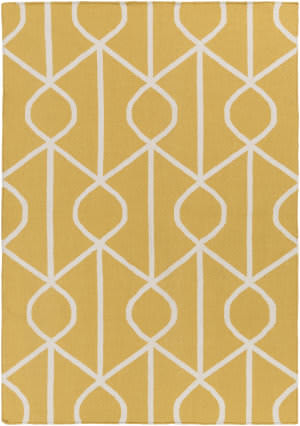 Surya York Ellie Yellow - Ivory Area Rug