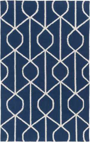 Surya York Ellie Blue - Ivory Area Rug
