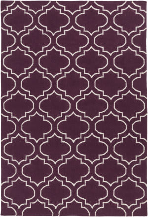 Surya York Sara Purple - Ivory Area Rug