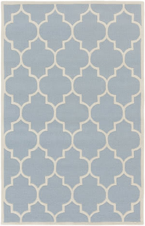 Surya Transit Piper Light Blue/White Area Rug