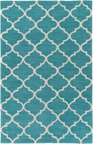 Surya Holden Finley Teal - Ivory Area Rug