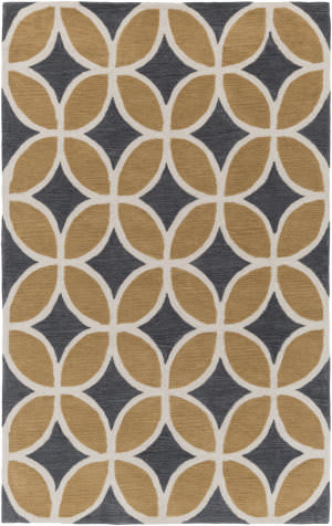Surya Holden Mackenzie Sand - Charcoal Area Rug
