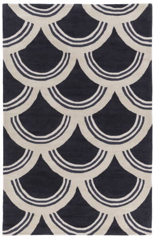 Surya Holden Sienna Charcoal - Ivory Area Rug