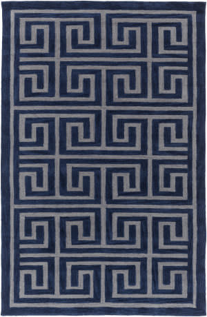 Surya Holden Kennedy Navy - Grey Area Rug