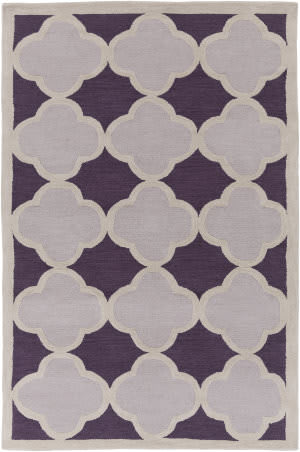 Surya Holden Maisie Purple - Gray Area Rug