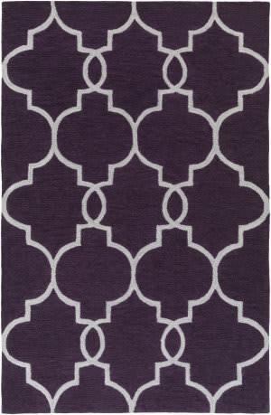 Surya Holden Mattie Purple - Ivory Area Rug