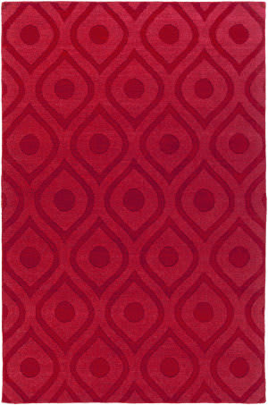 Surya Central Park Zara Red Area Rug