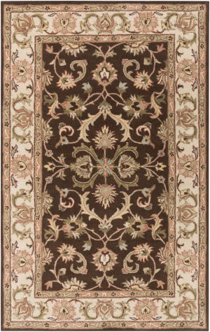 Surya Oxford Aria Brown/Ivory Area Rug