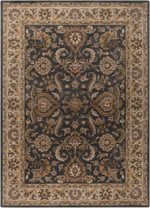 Surya Middleton Georgia Charcoal - Ivory Area Rug