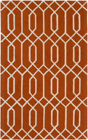 Surya Impression Ashley Orange - Ivory Area Rug