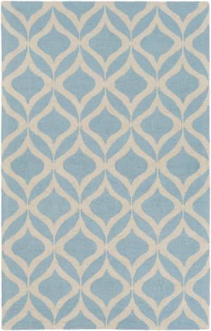 Surya Impression Addy Light Blue - Ivory Area Rug