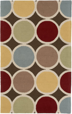 Surya Impression Laura Brown Multi Area Rug