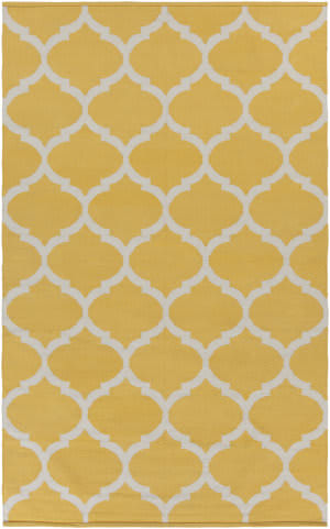 Surya Vogue Everly Yellow/White Area Rug