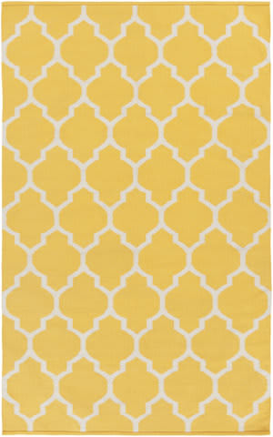 Surya Vogue Claire Yellow/White Area Rug