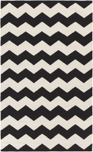 Surya Vogue Collins Black/White Area Rug