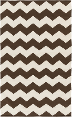 Surya Vogue Collins Brown/White Area Rug