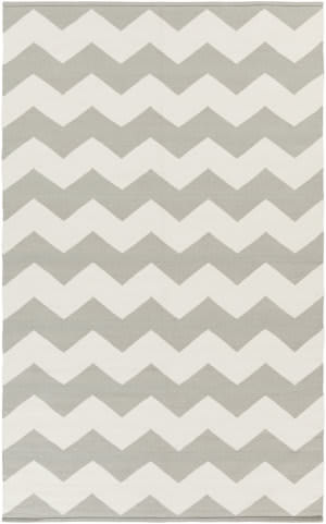 Surya Vogue Collins Grey/White Area Rug