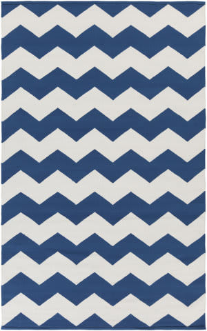 Surya Vogue Collins Blue/White Area Rug