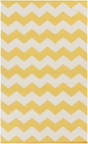 Surya Vogue Collins Yellow/White Area Rug
