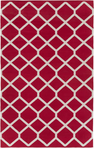 Surya Vogue Elizabeth Red - Ivory Area Rug
