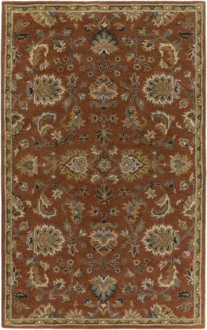 Surya Middleton Mallie Rust Area Rug