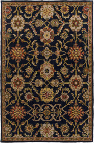 Surya Middleton Jenna Navy Multi Area Rug