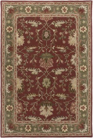 Surya Middleton Savannah Red - Moss Area Rug